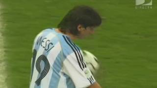 Lionel Messi vs Netherlands - Germany 2006