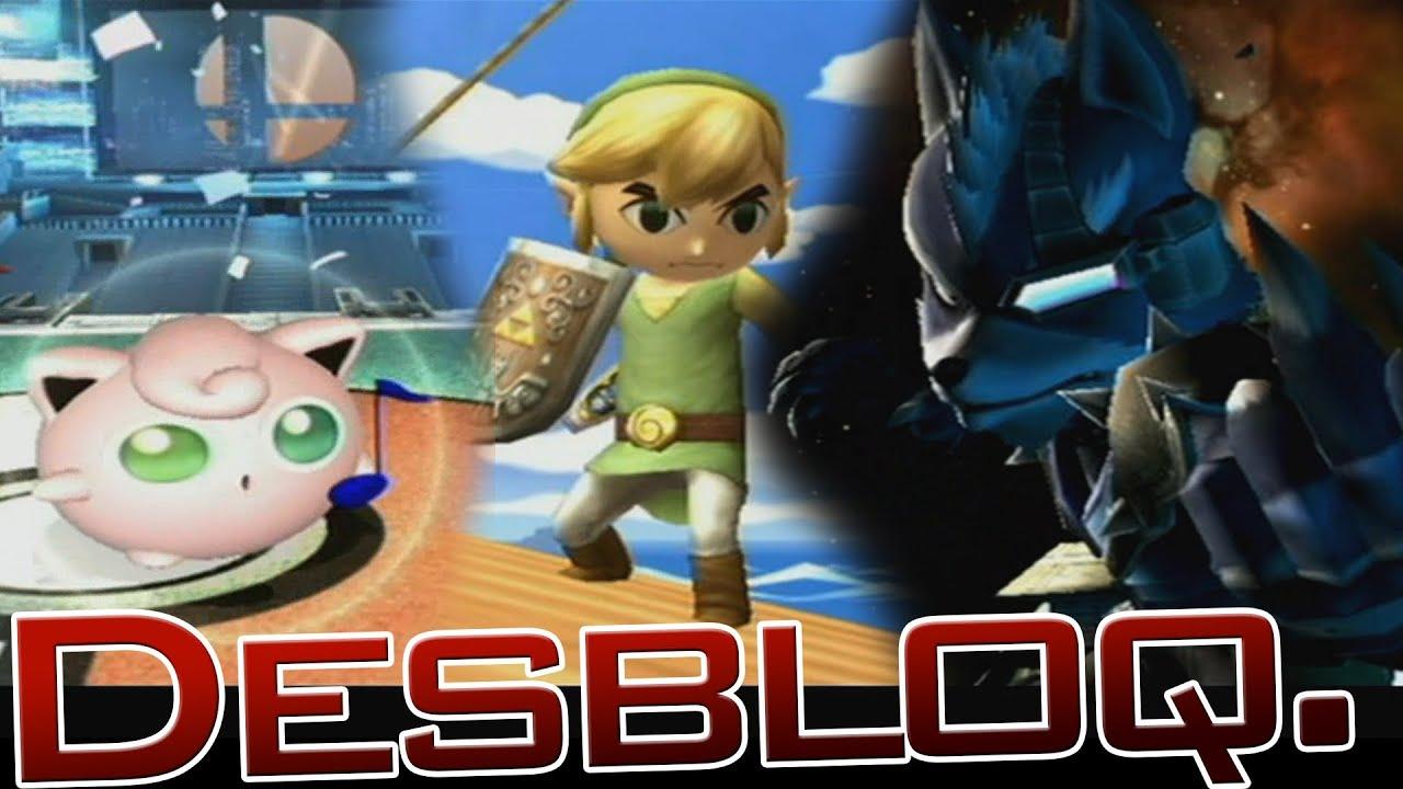 3d Interactive Wallpaper Smash Bros Brawl Desbloquear A Toon Link Wolf Y