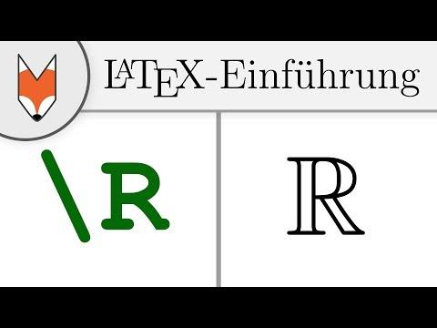 LaTeX-Einführung 6 - eigene Befehle definieren