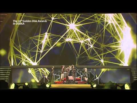 SNSD - The Boys [26th Golden Disk Awards 26.02.2012]