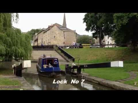 Sailing into the City - K&A Canal - Bath - 16/06/14