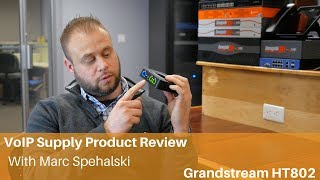VoIP Supply Review | Grandstream HT802 Analog Telephone Adapter