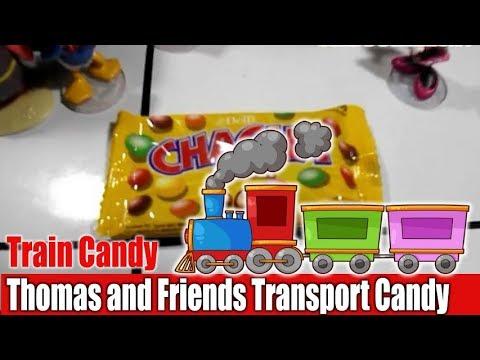 Kids Toy Train Thomas and Friends Transport Candy   Kereta Api Angkut Permen