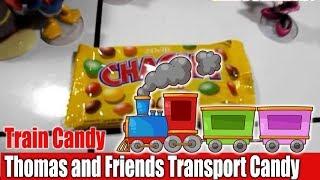 Kids Toy Train Thomas and Friends Transport Candy | Kereta Api Angkut Permen