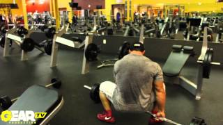 ifbb pro bodybuilder aaron clark hamstring workout part 2 of 2