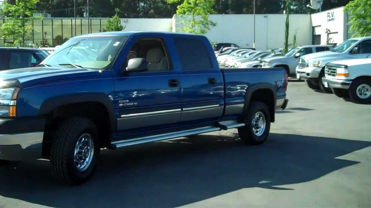 All Chevy 2003 chevy 2500hd : 2003 Chevrolet Silverado 2500HD LS - YouTube