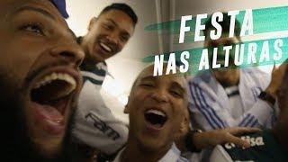 PALMEIRAS CAMPEÃO - A FESTA NO AVIÃO