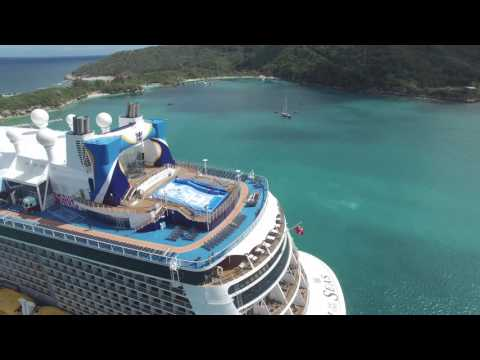 Labadee, Haiti - Royal Caribbean International Port of Call - DJI Phantom 3 Pro