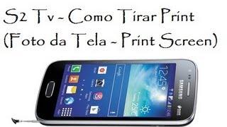 Video S2 Tv - Como Tirar Print (Foto da Tela / DavidTecNew) / Brasil download MP3, 3GP, MP4, WEBM, AVI, FLV Agustus 2018