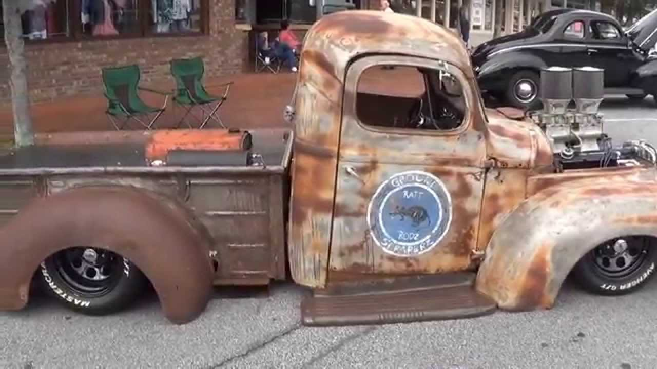 1948 International Rat Rod | Custom Built Truck - YouTube