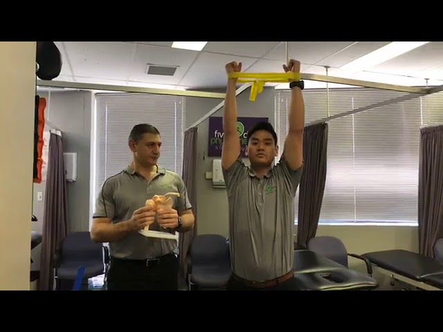 Shoulder Stability and Activation - Sky Punches