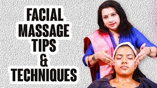 Best massage techniques for self facial | Step By Step #Vasuntharatips