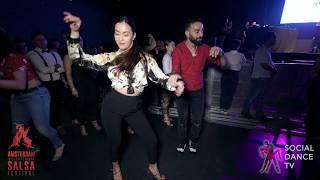 Talal Benlahsen & Shelina - Salsa social dancing | Amsterdam International Salsa Festival 2019