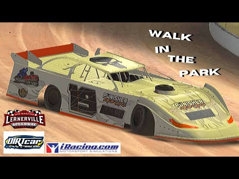 iRacing: Walk In The Park?(Dirt Late Model @Lernerville Speedway)
