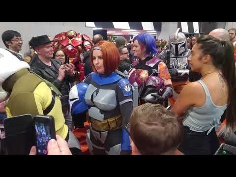 Star Wars Parade MCM Comic Con Birmingham 2018
