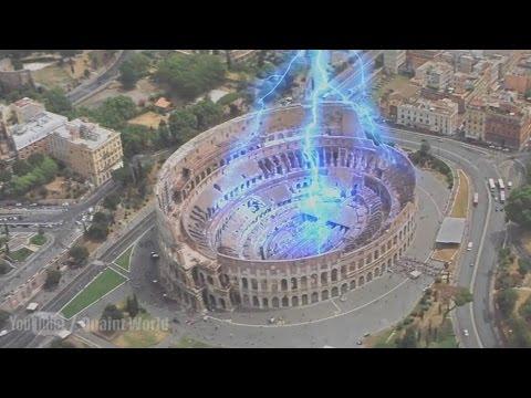 Nature Attacks on Rome | Lightning Disaster Scene | The Core (2003)