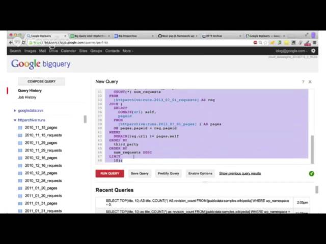 Big Query Power With JavaScript | Ido Green