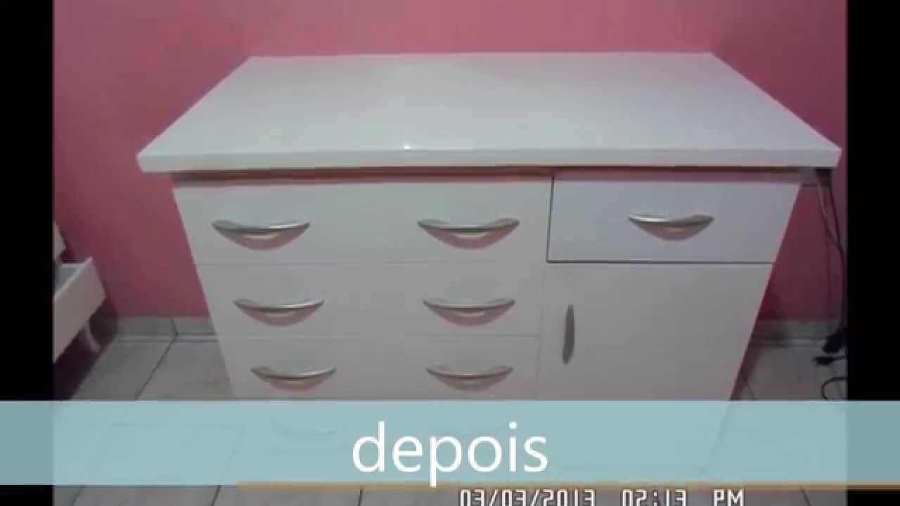Restaura o de m veis rustico envernizado pintura branca - Objetos rusticos para decoracion ...