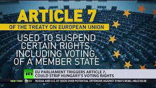 'Nuclear option': EU Parliament triggers Article 7 against Hungary