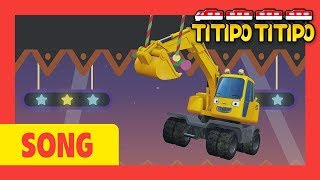 Titipo Song Wheels on the Strong heavy vehicles l +60 mins l Car songs l Tayo and Titipo