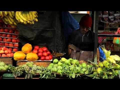 Local market of Panchgani