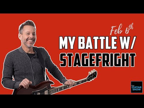 My Battle With Stagefright & How to Overcome It - LIVE