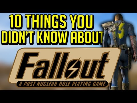 10 Things You Didn't Know About Fallout: A Post Nuclear Role Playing Game (Fallout 1) |