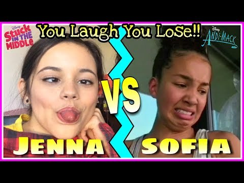 Thumbnail: Jenna Ortega VS Sofia Wylie Musical.ly Battle | Try Not To Laugh Challenge! Funny Disney Girls