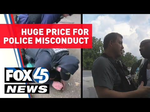 Huge Price for Police Misconduct