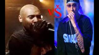 The best black rapper K-RINO vs The best white rapper EMINEM.