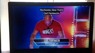 Carl Fantauzzo at the Baltimore Qualifers - American Ninja Warrior 2019
