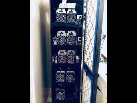 Mining Cabinet Hot/Cold Sections Max Airflow And Cool Temps
