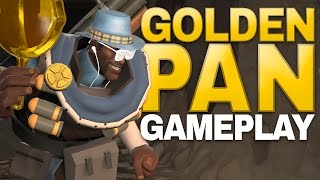 Golden Frying Pan! Turning People Into Gold! [Gameplay]
