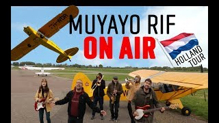 Muyayo Rif On Air - Holland Tour - Volver a Marte (Vlog Videoclip)