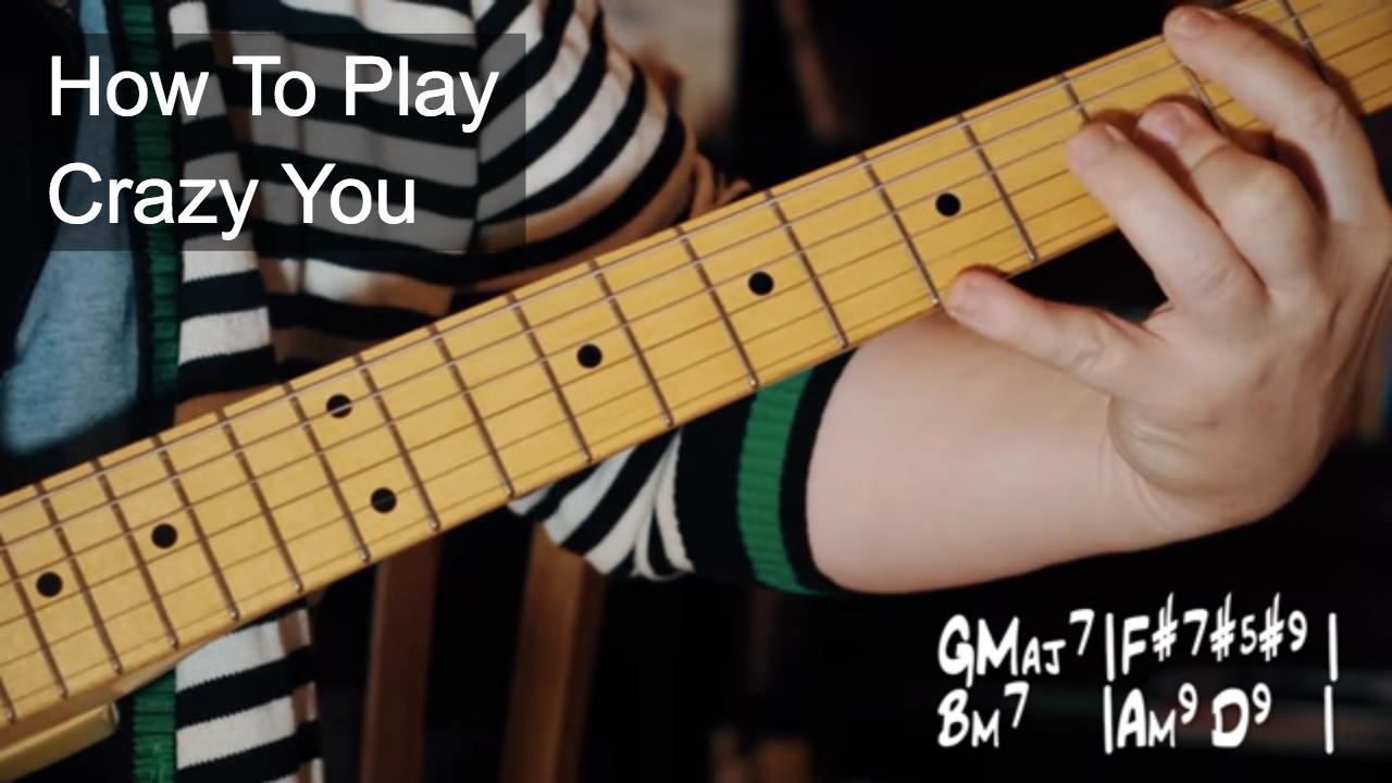 Crazy You Prince Guitar Tutorial Youtube