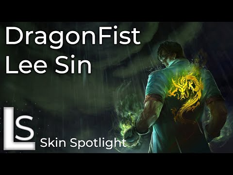 Dragon Fist Lee Sin - Skin Spotlight - Lunar Revel Collection - League of Legends