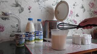 Домашний йогурт в мультиварке Scarlett