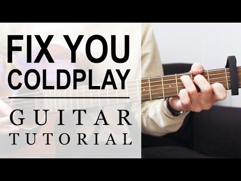 Coldplay - Fix You | FAST Guitar Tutorial | EASY Chords