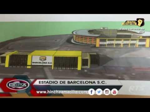 EL FUTURO estadio de BARCELONA de Guayaquil Ecuador
