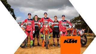 2018 KTM MOTOCROSS RACING TEAM | KTM