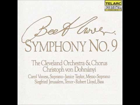 Beethoven L.V. - Symphony No 9 in D minor 'Choral' Op 125 Presto Allegro assai