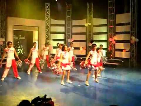 BKD cheerleader  Vu Dieu Xanh  VTV6