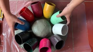 Amazing Creative Cement Ideas   Diy Gifts For Wife Happy   Beautiful And Easy   Diy Flower Pots