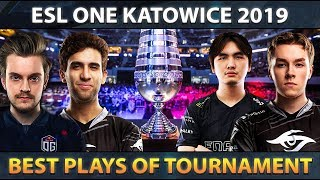 Best Plays of ESL One Katowice 2019 - Dota 2