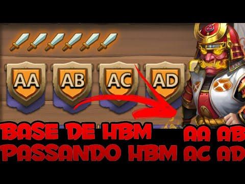 Fazendo Base De HBM • Passando HBM AA, AB, AC E AD | Embate Do Castelo