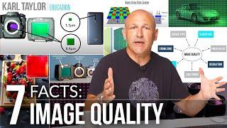7 FACTS For Better Image Quality - Megapixels, Resolution, Image Sensor Size, Photosites???