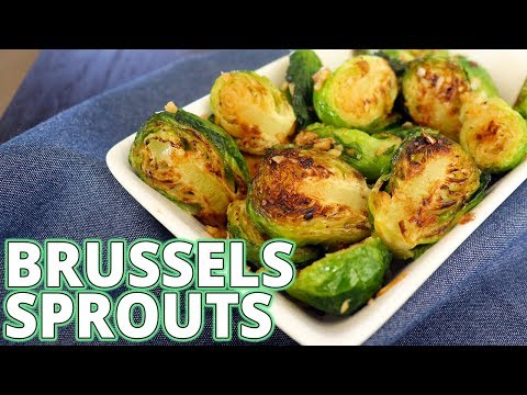 Garlic Brussels Sprouts Recipe (Vegan)