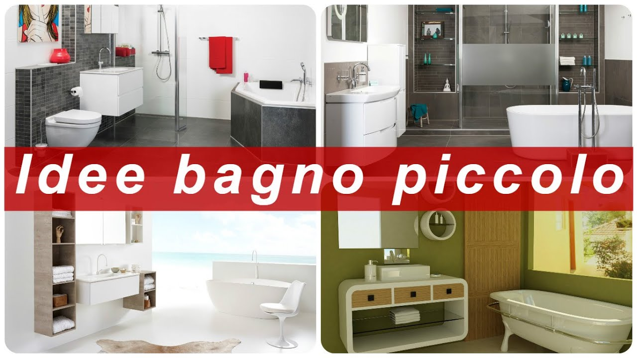 Preferenza Idee bagno piccolo - YouTube JF84