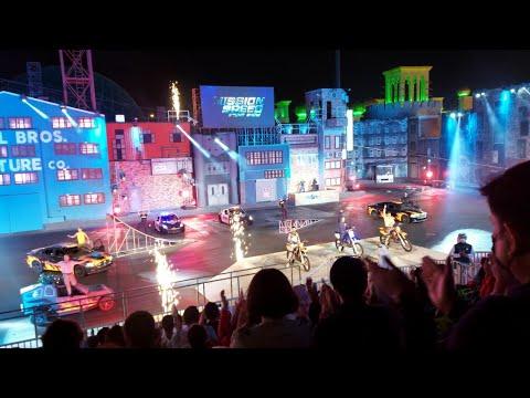 Dubai Global Village Mission Speed stunt show 2021