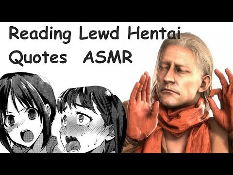 ❤ Hentai Quote reading {ASMR} *LEWD* ❤